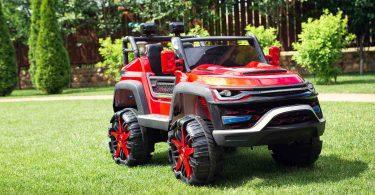 Elektromobil-Super-Car