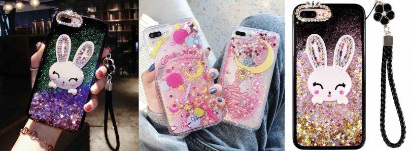 ZHidkij-perelivayushchijsya-chekhol-s-blestkami-dlya-iPhone